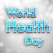 World health day background. — Image vectorielle