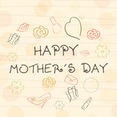 Happy Mothers Day background. — Stock Vector