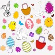 Happy Easter background. — Stock Vector #22911588