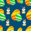 Happy Easter background. — Stock Vector #22924858