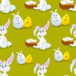 Happy Easter background. — Stock Vector #22947548