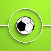 Soccer Ball Background. — Stock Vector