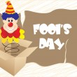 Illustration for fools day — Stock Vector #2333172