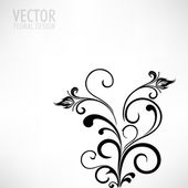 Beautiful floral background. — Stock Vector