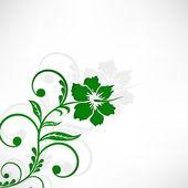 Fondo floral hermoso. — Vector de stock