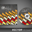 Abstract CD Cover design for your business. — Stock Vector