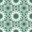 Seamless background with Arabic or Islamic ornaments style patte - Stock Vector