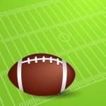 American soccer football. EPS 10 — Stock Vector