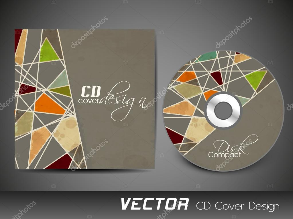 Abstract CD Cover design for your business. — Stock Vector ...