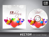 CD Cover design for your business. — Stock Vector