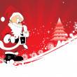 Happy marry christmas background — Stock Vector #2734622