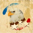 4th of July, American Independence Day background.  — Imagen vectorial