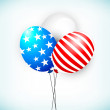 4th of July, American Independence Day background.  — Imagens vectoriais em stock