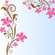 Abstract floral background.  — 图库矢量图片