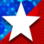 4th of July, American Independence Day background. — Vettoriale Stock