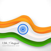 Indian Independence Day background. — Stock Vector