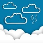 Abstract rainy season background. — Stock Vector #27383025