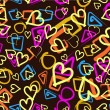 Abstract love background. — Grafika wektorowa