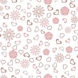 Abstract love background. — Stock vektor