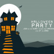 Happy Halloween background. — Imagens vectoriais em stock