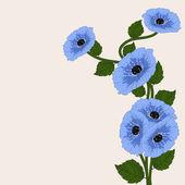 Floral abstrakt. — Stockvektor