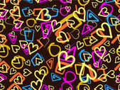 Abstract love background. — Vecteur