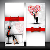 Abstract love background. — Stockvektor