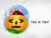 Happy Halloween background. — Vector de stock