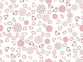 Abstract love background. — Vector de stock