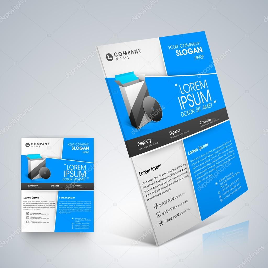 professional business flyer template or corporate banner design professional business flyer template or corporate banner design stock vector 28970685