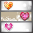 Abstract love background.  — Stockvectorbeeld
