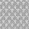 Seamless background with Arabic or Islamic ornaments style patte — Image vectorielle
