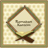 Holy month of Muslim community Ramadan Kareem background. — Stock Vector