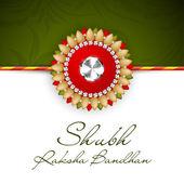 Happy Raksha Bandhan Indian festival background . — Vector de stock