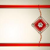 Happy Raksha Bandhan Indian festival background . — Stock Vector