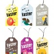 Abstract set of easter day tag — Stock Vector #2905094