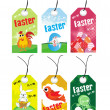 Background with set of easter egg — Stock Vector #2905140