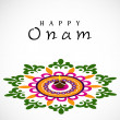 Stock Vector: South Indifestival Onam wishes background