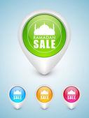 Mese sacro dello sfondo di comunità musulmana ramadan kareem. — Vettoriale Stock