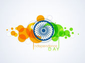 Indian Independence Day 15th August background. — Stock Vector