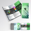 Professional business three fold flyer template, corporate brochure or cover design, can be use for publishing, print and presentation. — Stock Vector #29034687
