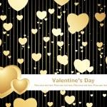 Black love design background — Stock Vector #2916532