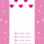 Hanging love illustration — Stock Vector #2916968