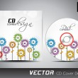 CD Cover design for your business. — Stock Vector #29823131