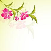 Fundo floral bonito. — Vetor de Stock