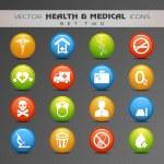 Medical Icon Set. — Stock Vector