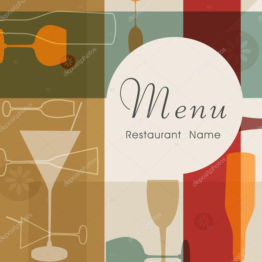Stomach Restaurant Menu Card