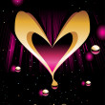 Backgorund with romantic heart — Stock Vector #3287209