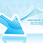Futuristic background illustration — Stock Vector #3301045