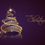 Merry Christmas celebration background. — Stock Vector #34034973